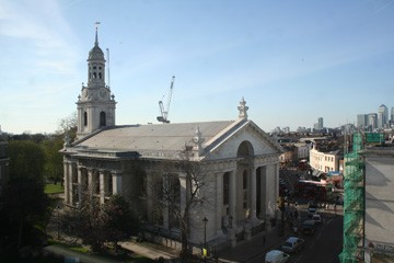 Town Centre Amp St Alfege Church Maritime Greenwich World